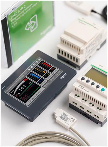 реле оснащенное функцией NFC Schneider Electric