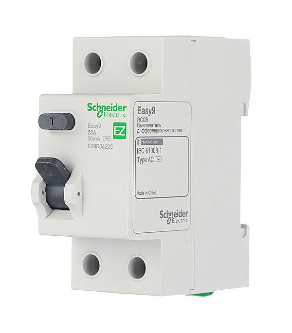 селективное УЗО на вводе Schneider Electric Easy 9