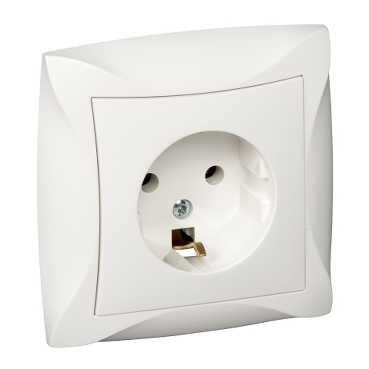 Schneider Electric SCWDE000142 - ДУЭТ РОЗЕТКА с заземлением, 16А, в ... c6160a3e455